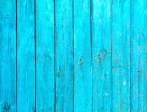 Blue wood texture Stock Image