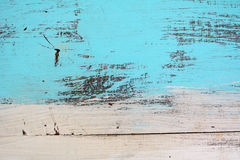 Blue wood texture old wall Stock Images