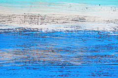 Blue wood texture old wall Royalty Free Stock Images