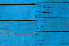 Blue wood texture wall Stock Photos