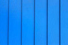 Blue wood wall Royalty Free Stock Image