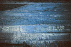 Blue wooden abstract texture. Blue vintage wood background. Abstract texture and background for designers. Macro view of blue wood. In vintage style. Blue wood Royalty Free Stock Image