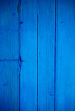 Blue Wooden Background Royalty Free Stock Image