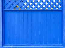 Blue wooden background Royalty Free Stock Photography