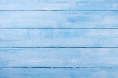 Blue wooden background with high resolution. Top view Copy space Royalty Free Stock Image