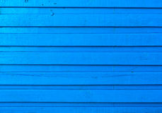 Blue_wooden_background. Horizontal saturated blue wooden background Stock Photo