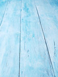 Blue wooden background. Royalty Free Stock Photo