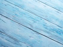 Blue wooden background. Stock Images