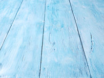 Blue wooden background. Stock Photography