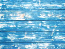 Blue wooden background. Royalty Free Stock Photos