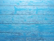 Blue wooden background. Stock Image