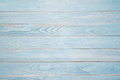 Blue wooden background. rustic style. Top view Stock Photos