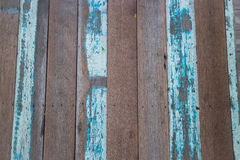 Blue wooden background of table top Stock Image