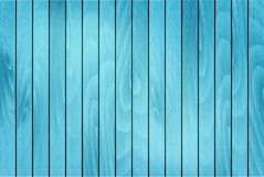 Blue wooden background. Vector stock photo