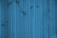 Blue wooden background wallpaper design Royalty Free Stock Image