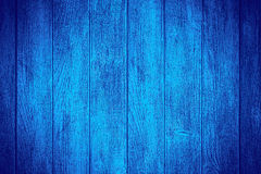Blue wooden background Royalty Free Stock Images