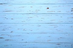 Blue wooden background or wood texture, wooden board stock images