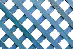 Blue wooden blank frame Royalty Free Stock Image