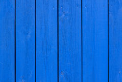 Blue wooden boards Stock Images