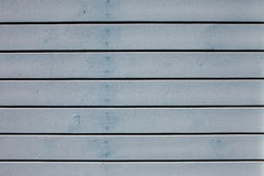 Blue wooden boards Royalty Free Stock Images