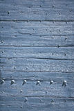 Blue wooden door background provence Stock Photography