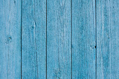 Blue wooden fence background pattern Royalty Free Stock Photography
