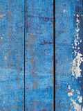 Blue wooden floor Royalty Free Stock Photography