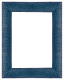 Blue wooden frame Royalty Free Stock Images