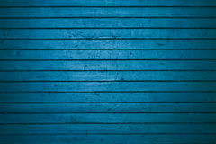 Blue wooden freight door Royalty Free Stock Photo
