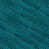 Blue wooden laminate Stock Image