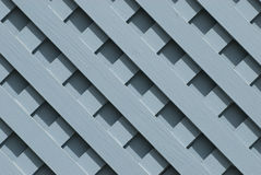 Blue wooden lattice. A background of a blue painted wooden lattice stock photos