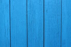 Blue wooden painted background vertical wood royalty free stock photography