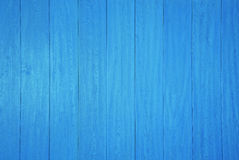 Blue wooden panel background Stock Images