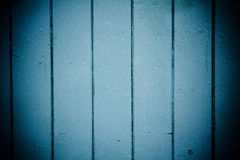 Blue wooden panels Stock Images
