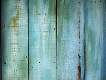 Blue wooden pattern background. Close up Stock Photos
