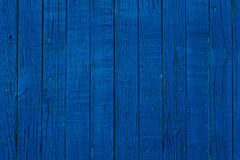 Blue wooden planks Royalty Free Stock Photography