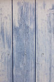 Blue wooden planks surface background Stock Photos