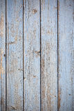 Blue wooden planks surface background Stock Image