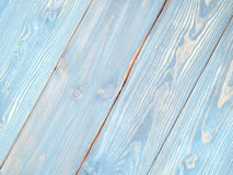 Blue Wooden Surface Stock Photography
