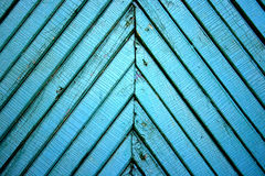 Blue Wooden Texture Royalty Free Stock Image