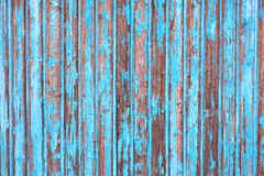 Blue wooden wall Royalty Free Stock Images