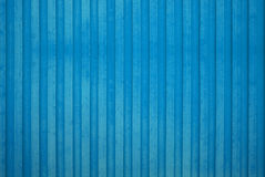 Blue Wooden Wall. A blue wooden wall background Royalty Free Stock Photography