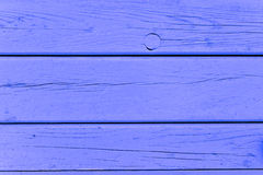 Blue wooden wall Royalty Free Stock Photo