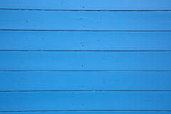 Blue Wooden Wall Stock Photography