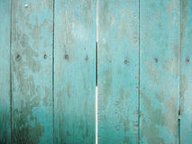 Blue wooden wall. For background royalty free stock photos