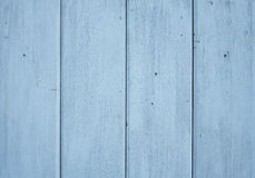 Blue wooden wall background. Texture Stock Photos