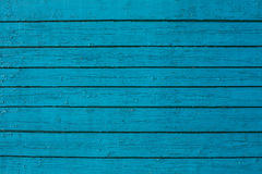 Blue wooden wall background Royalty Free Stock Photos
