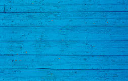 Blue wooden wall background Stock Photography