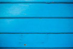 Blue wooden wallpaper Stock Images