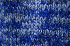 Blue wool Royalty Free Stock Image